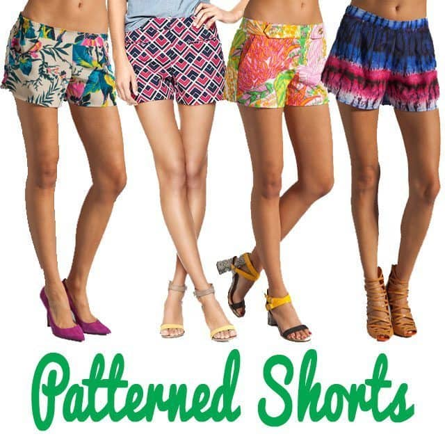 Patterned Shorts for Spring