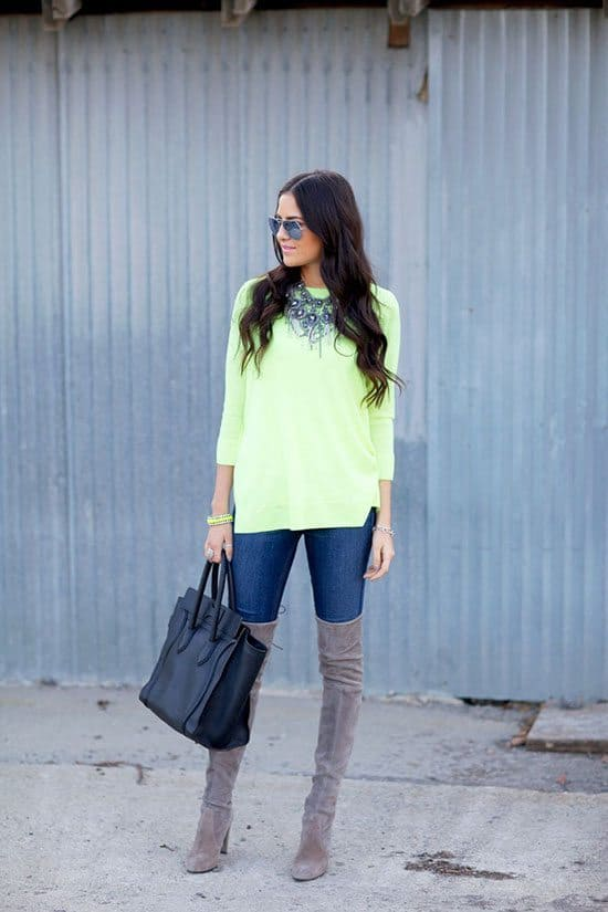 Bright Sweaters For Fall | Blue Mountain Belle