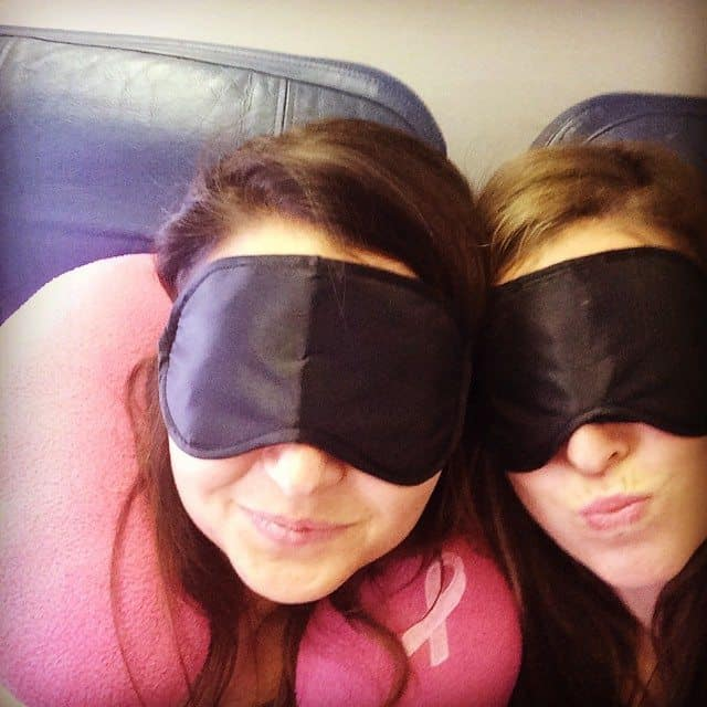 eye mask selfie