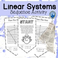 systems of linear equations sequence activity