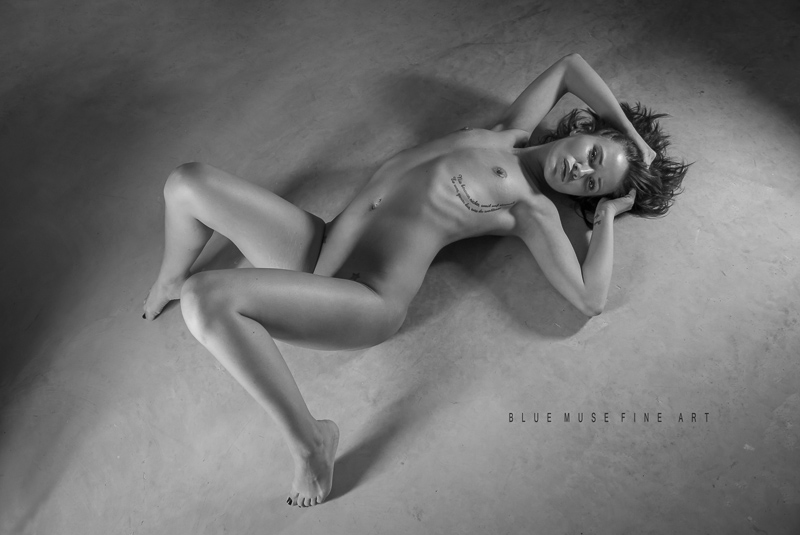 Blue Muse Fine Art with Jenna Leigh. Bare. 2013.