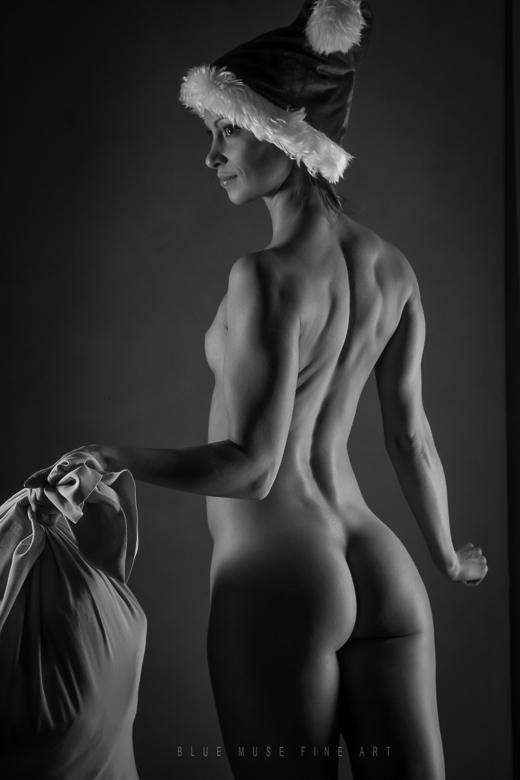 Blue Muse Fine Art - Sexy Santa - 2014.