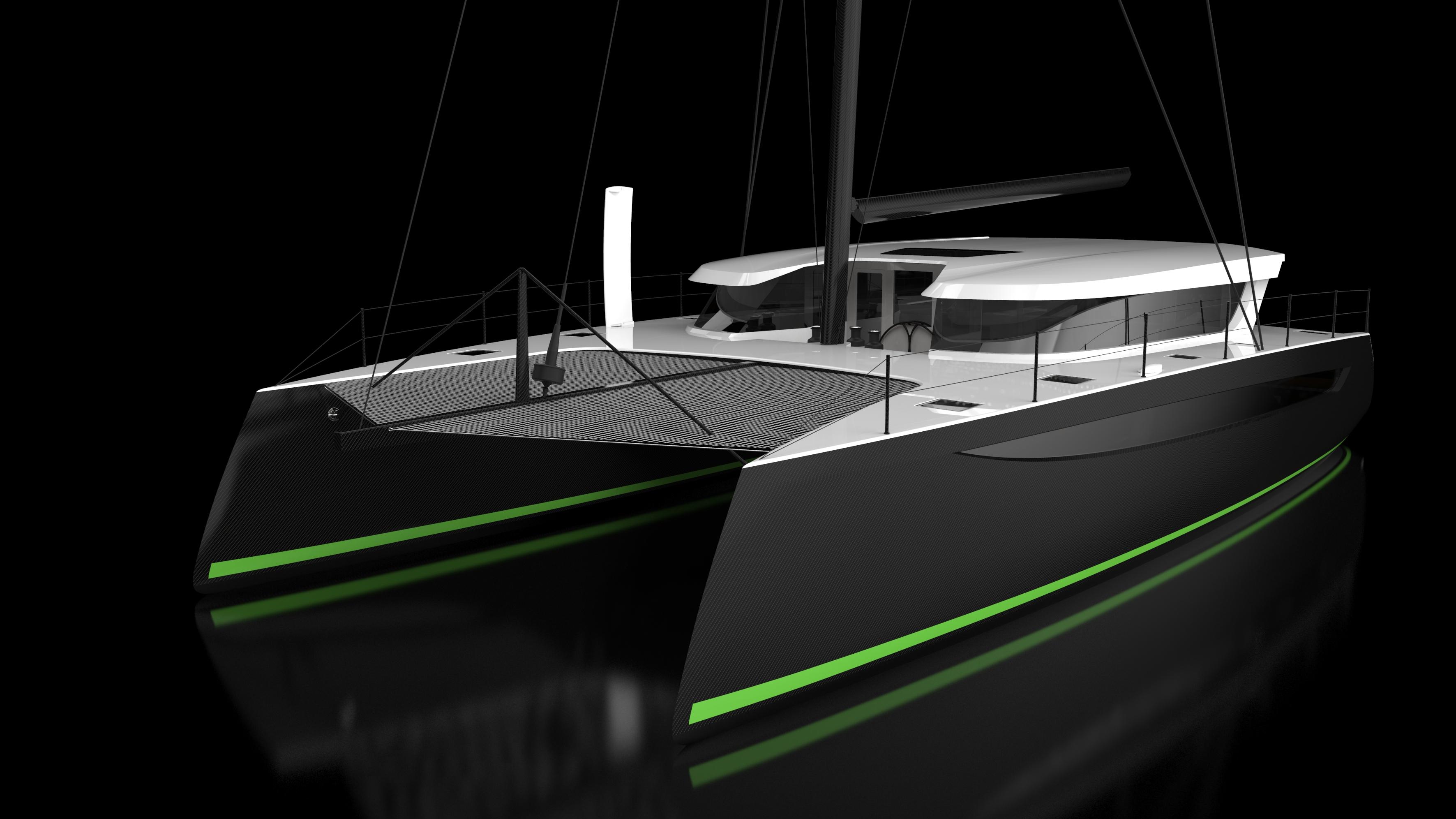 MIAMI BOAT SHOW Carbon Fiber Luxury Performance Catamarans