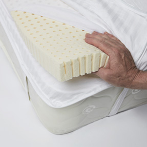 Mattress Topper With Straps