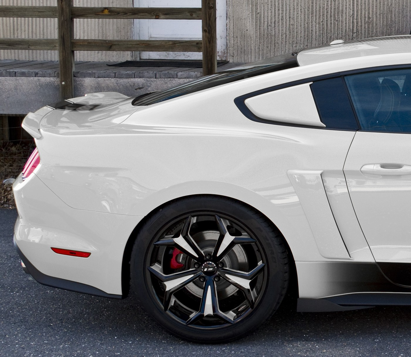 2015 2017 Mustang Genuine Ford Side Quarter Window Scoops