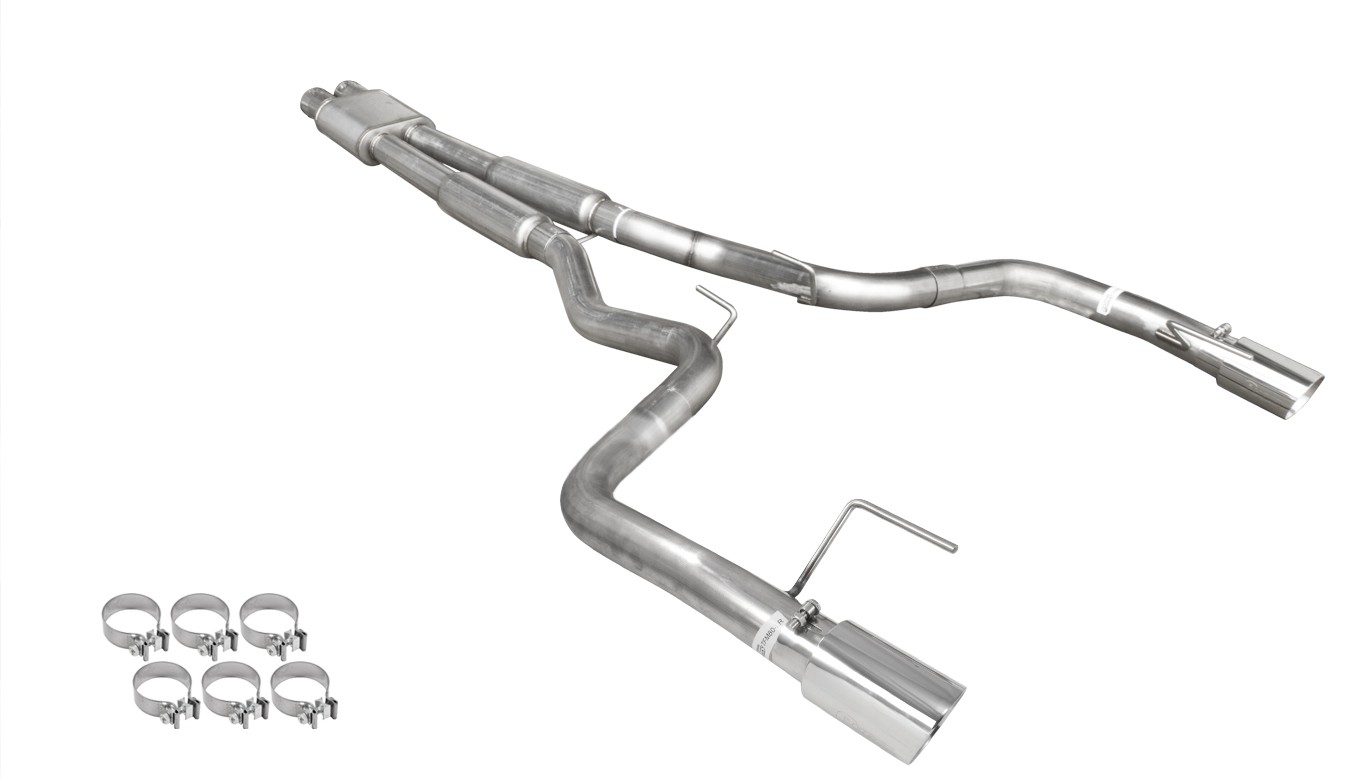 Mustang Gt Pypes 3 Stainless Catback Exhaust