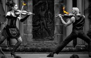 Strings on Fire The world's leading violin stunt duo