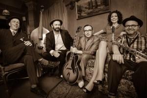 Swingin the Gatsby-jazz-band