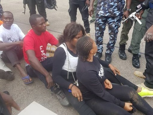 Pictures: Uneasy calm as Police, Army arrest #RevolutionNow protesters