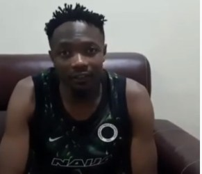 VIDEO: Watch what Super Eagles captain said after disappointing AFCON qualifier