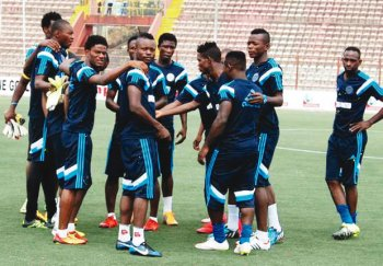 CAFCC: Rivers United players, officials  undergo Covid-19 test