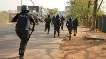 Police arrest two suspects for allegedly eating roasted police officers' flesh