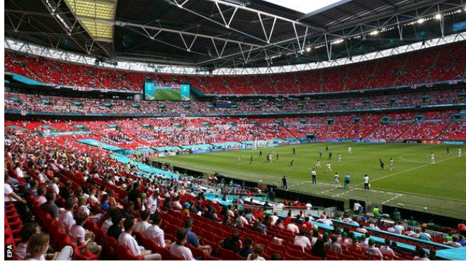 Wembley to be allowed at least 60,000 fans for Euro 2020 semis, final