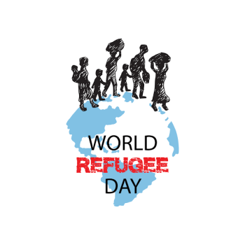 National commissioner lights up Abuja city gate as NCFRMI marks 2021 World Refugees Day