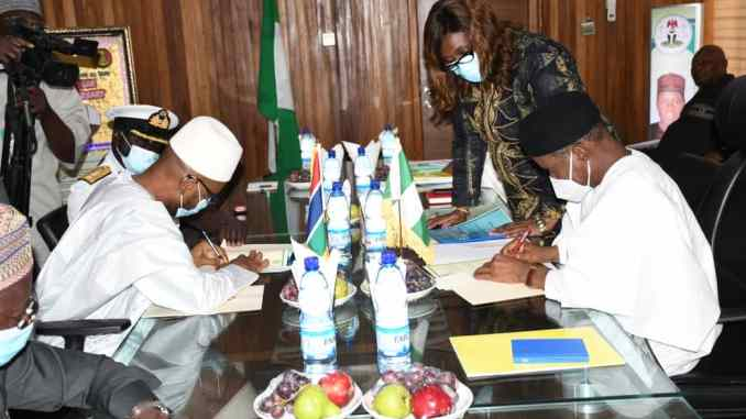 Insecurity: Nigeria, The Gambia sign MoU on intelligence-sharing,  capacity-building – Blueprint Newspapers Limited