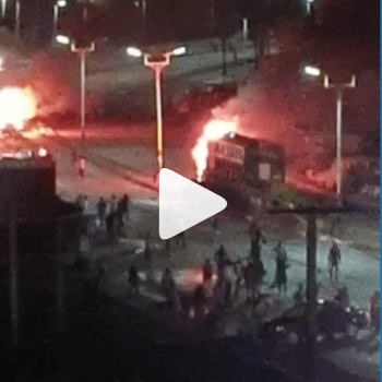 Happening now: Hoodlums launch attack, set trucks on fire in Jos (VIDEO)