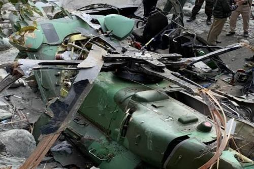 Breaking: Again, Military helicopter crashes