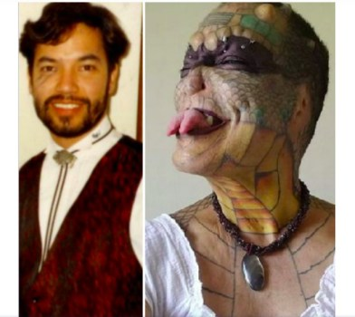 Incredible! Ex-bank manager cuts off body parts, turns to dragon