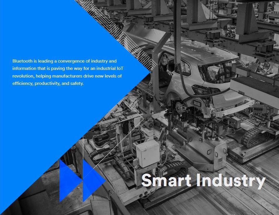 Bluetooth at Alstom's factory