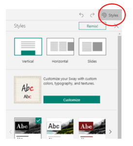 How to Create Your First Microsoft Sway Example - History of the Haka