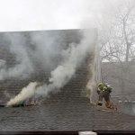 Spot News: Fire at Wintergreen Resort
