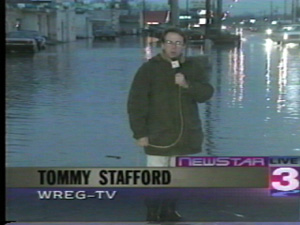 Tommy @ WREG-TV 3 Memphis in mid 1990's