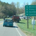 Spot News: Accident at Route 151 & 6 East- Martin's Store