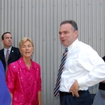 Faber : Governor Tim Kaine in Nelson Thursday evening