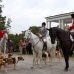Arrington : Opening hunt Oak Ridge Fox Hunt Club, lifetime honor to Wintergreen Pony Club