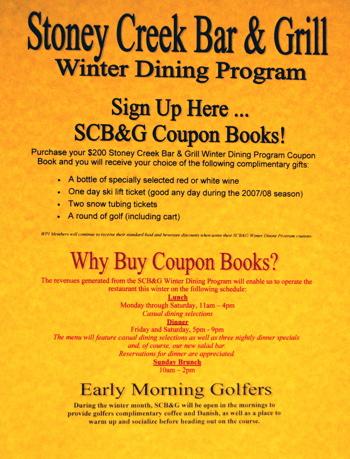 sbc&g coupon flyer
