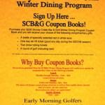 Nellysford : Stoney Creek Bar & Grill : Special Winter Dining Program