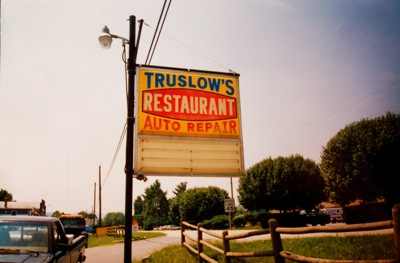 Truslows Sign