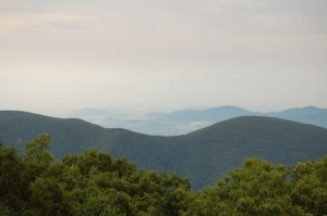 Wintergreen clouds