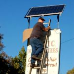 Basic Necessities Goes Solar....Sort Of, & Good Luck FP!