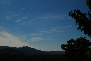 Photography By Ann Strober : Clear Fall Skies Over Nelson County, Virginia