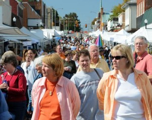 Photos By Paul Purpura : Countless people filled the streets of neighboring Waynesboro at this weekend's fall festival.