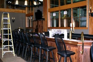 The bar area inside DBBC.