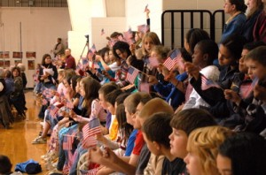The 2007 RRES Veteran's Day event.