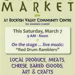 First Saturday Community Market : March 7, 2009
