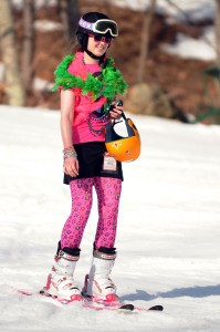 ©2009 NCL Magazine : Photos By Paul Purpura, Mountain Photographer. The Annual Mardi Gras Celebration at Wintergreen Resort was greeted by 70°+ temperatures this year! Click on any image for larger view.