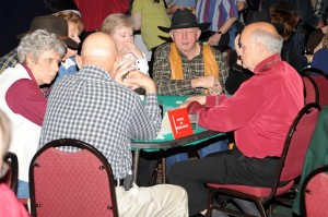 Games Saturday night included Texas Hold 'Em, Craps, Roulette, Black Jack & Horse Racing.