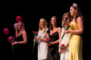 Past Miss Nelson winners are recognized.