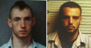 © 2009 Nelson County Life. Austin Griffin (left, from previous arrest photo) and Christopher Meeks are charged with 1st degree murder in the death of Opal Page.