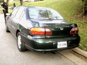 ©2009 NCL Magazine : Opal Page's green '98 Malibu was found by Waynesboro Police late Thursday afternoon in their city.