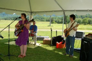Jan Smith & Friends played into the afternoon at Wine Into Summer.