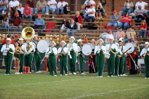 The NCHS Marching Govs Band.