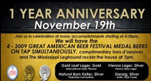 Join in the fun and celebrate the first year of business starting at 4:30PM this Thursday November 19th!