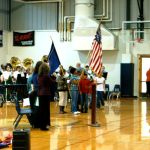 Rockfish River Elementary Honors Veterans : 11.11.09