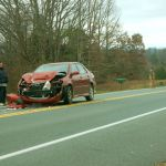 Auto Accident on VA Route 151 Near Trading Post Slows Traffic : 12.4.09