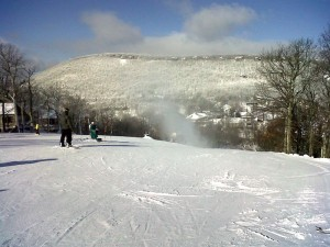 ©2009 All Photos www.nelsoncountylife.com : By Paul Purpura : The sun's out and the weather is perfect for skiing at Wintergreen Resort. Paul sent this to us right from the slopes!